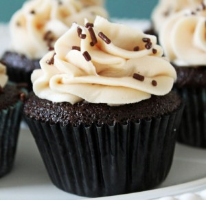 Salted Caramel Chocolate Cupcake Recipe
