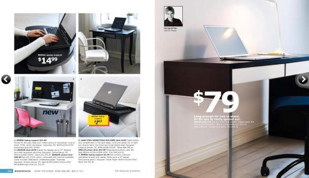 IKEA desk table chair