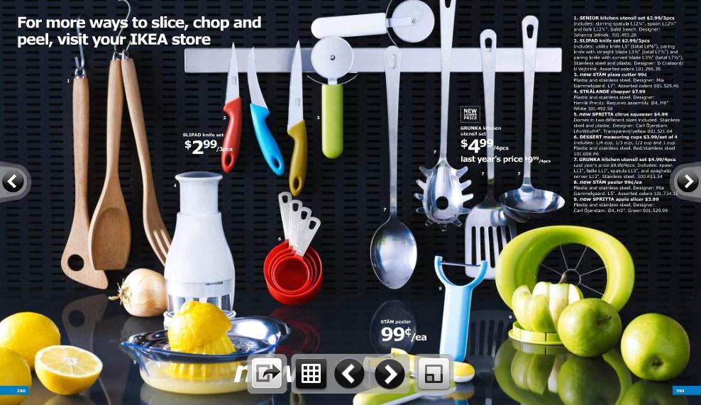 Quick peek - 2011 IKEA catalog - A Prima Vista
